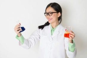 นักเคมีทำความสะอาด